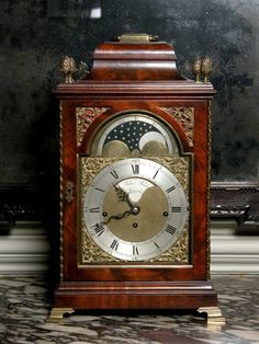 Musical bracket clock by James Smith. Circa 1775.