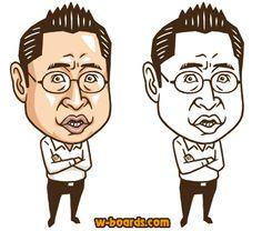 参院選 主要政党党首 似顔絵 | PSI!WEB