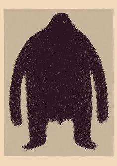 Illustration by Tom Gauld (Les dimensions d'une ombre)