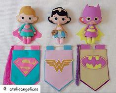 Felt Diy, Felt Crafts, Diy And Crafts, Arts And Crafts, Felt Name Banner, Felt Quiet Books, Superhero Party, Felt Fabric, Felt Dolls