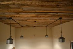 Craftaholics Anonymous®   How to add a Wood Ceiling DIY Tutorial