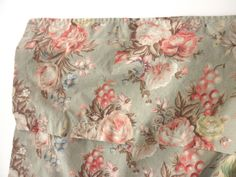 shabby chic Ralph Lauren shower curtain  floral by junquedujour, $37.95. Love this look :)