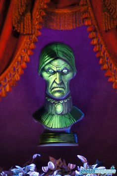 Haunted Mansion - The following busts