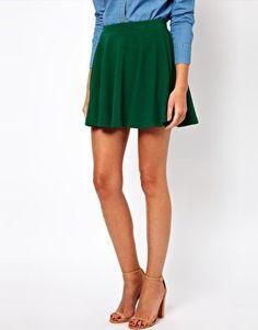 #asos                     #Skirt                    #ASOS #Skater #Skirt #asos.com                      ASOS Skater Skirt in Rib at asos.com                                          http://www.seapai.com/product.aspx?PID=1345802