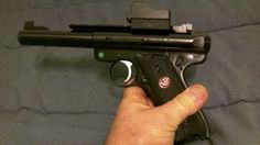 Cheap Reddot Sight for my Ruger Mark III Target 22lr Review