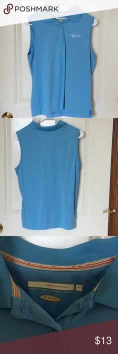 Greg Norman -Eagle Creek Golf Tank Greg Norman - Eagle Creek Ladies sleeveless Golf Tank, light blue Size: M See you on the course Ladies 🏑☀️ Greg Norman-Eagle Creek Tops Tank Tops