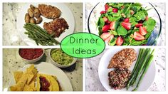 Dinner Ideas with Recipe Links