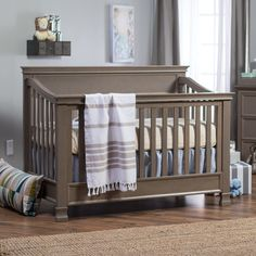 Have to have it. Million Dollar Baby Classics Foothill 4 in 1 Convertible Crib - $399 @hayneedle