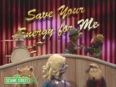 Sesame Street: Save Your Energy For Me