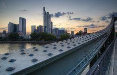 Frankfurt Skyline from Eiserner Steg I | Flickr - Photo Sharing!