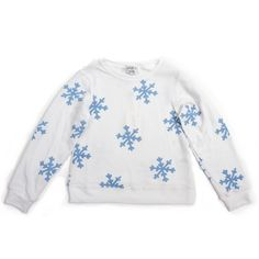 Super Comfy & Soft snowflake sweatshirt by Wildfox Kids at KokoBlush.com! Bring in the holiday season in style and comfort! The perfect pullover featuring a scoop neck, long sleeves with banded hems and a roomy, relaxed fit. Constructed from a deliciously soft, distressed fleece.   47% Rayon, 47% Polyester, 6% Spandex