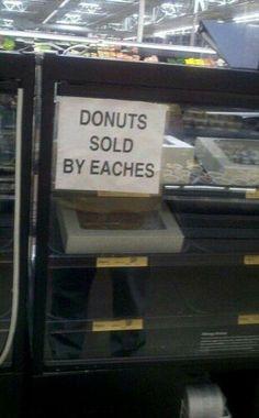 Eaches.