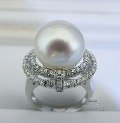 South Sea Pearl Ring l HS Jewellery & Watches http://stores.ebay.com/HS-Jewellery-Watches