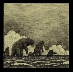 """John Kenn Mortensen artwork, esto me recuerda al viaje de chijiro"""""""