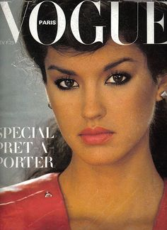 Janice Dickinson, Paris Vogue, 1979. So beautiful...before she was cray...