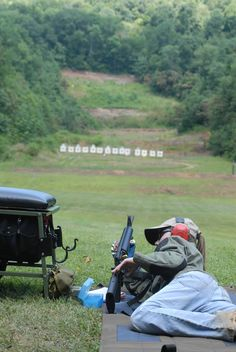 What does your outdoor shooting range look like?