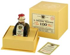 Mussini 100 Year Balsamic Vineagr, Il Grande Vecchio, 2.39 Ounce Glass Bottle -- Continue viewing to know more at Dinner Ingredients board