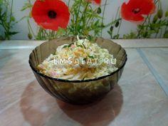 Салат из пекинской капусты с яйцами и кукурузой - http://emsalat.ru/salad_veget/salat-iz-pekinskoy-kapustyi-s-yaytsami-kukuruzoy.html