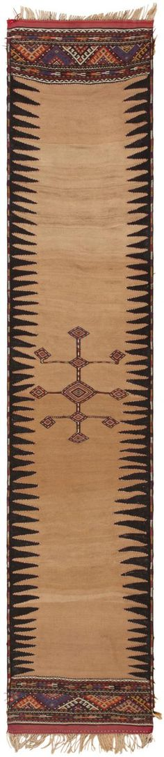 Antique Kurdish Kilim.  By Nazmiyal