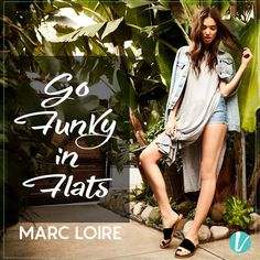 Funky Flats for a funky casual look! Presenting the wide choice of flats from Marc Loire Now On Vilara. Shop Here : https://goo.gl/BXEGjC #marcloire #womensflats #funywear