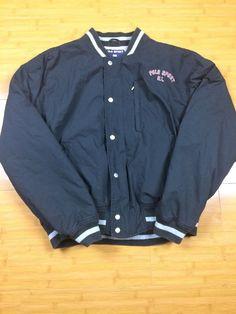 4d7c37338 Vintage Polo Sport R.L. Varsity Jacket 67  Size Large