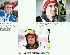 Funny Sports Memes, Sports Humor, Skiing Memes, Ski Jumping, Ski And Snowboard, Haha, Jumpers, Fandoms, Kawaii