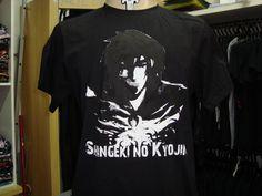 shingenki no kyogin camiseta c/ estampa na frente em silk screen marca arte do rock, tamanhos p/m/g. R$ 40,00