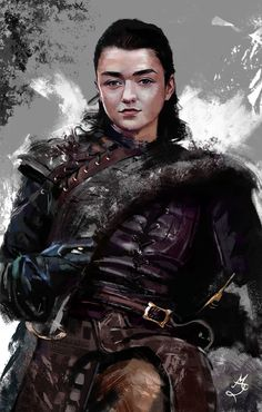 Arya Stark Game Of Thrones by Majdish.deviantart.com on @DeviantArt