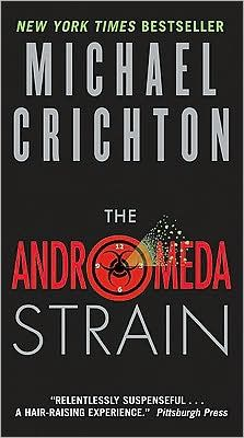 "If you liked ""Jurassic Park"" then you may also like ""Andromeda Strain"". A crashed but lethally contaminated satellite, a whole town dead except for two people...see what happens on ""The Andromeda Strain"" by Michael Crichton."