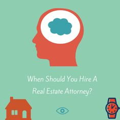 When should you hire a real estate attorney? http://cincinkyrealestate.com/2015/03/21/when-should-you-hire-a-real-estate-attorney/