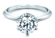 My Dream Ring <3 Tiffany's Engagement Setting.. I've loved this ring since I was little