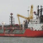Tanker Gas Ice bei INEOS