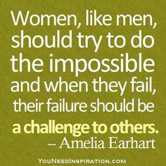 by Amelia Earhart