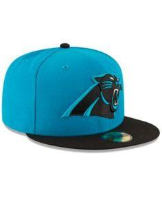 New Era Carolina Panthers Team Basic 59FIFTY Fitted Cap - Blue 7 1/8