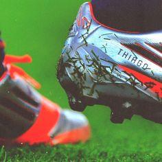 the best attitude 95fa2 a5bbf Las botas de Messi con el nombre de su hijo Thiago Messi 10, Lionel Messi