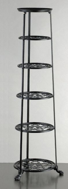 Six Tier Pan Stand