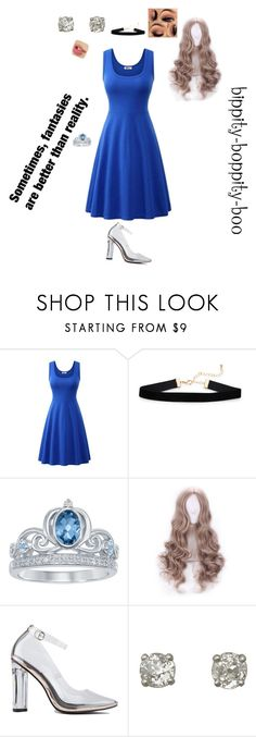 """Mondern Cinderella"" by stephanie-black56-love ❤ liked on Polyvore featuring Disney"