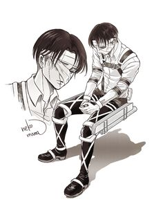 Levi Manga, Manga Boy, Manga Anime, Anime Art, Attack On Titan Eren, Attack On Titan Fanart, Levi X Eren, Levi Ackerman, Attack On Titan Aesthetic