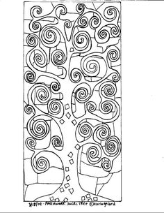 Karla Gerard Patterns by Hetty Van Gurp. A selection of whimsical folk art patterns created by artist, Karla Gerard. Crazy Quilting, Pattern Paper, Pattern Art, Art Patterns, Karla Gerard, Klimt Art, Free Coloring Pages, Art Plastique, Teaching Art