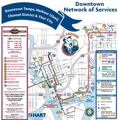 Map Downtown St Pete FL Johnnyroadtripcom TampaSt - Map of florida cities near tampa