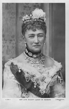 Queen Louise of Denmark, 1817-1898, nee Louise of Hesse-Cassel. Daughter of William of Hesse-Cassel.