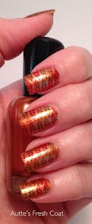 Autumn Nails  Zoya Penny, Zoya Isla and Zoya Ray