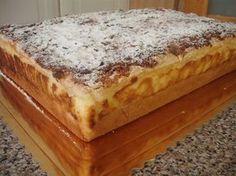 Aksamitny sernik na budyniu Polish Desserts, Polish Recipes, Sweets Cake, No Bake Cake, Baked Goods, Sweet Recipes, Food To Make, Sweet Tooth, Sweet Treats