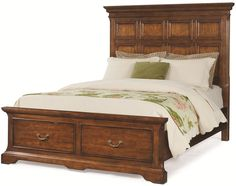 Cresent Classics - Casual Living King Storage Headboard