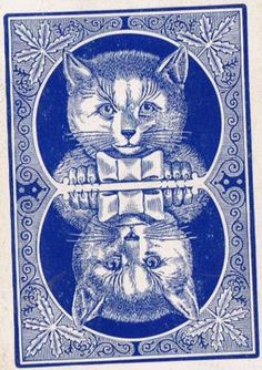 playing card - cats