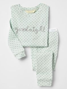 Toddler girl pajamas from Gap are made from super soft cotton, polyester and organic cotton. Shop toddler girl nightgowns, robes, and pajamas at Gap. Cute Pajama Sets, Cute Pjs, Cute Pajamas, Baby Girl Pajamas, Girls Pajamas, My Baby Girl, Cute Sleepwear, Girls Sleepwear, Cute Lazy Outfits