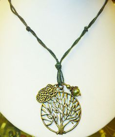 There's An Owl in My Tree  Necklace        by sherrishempdesigns, $14.00