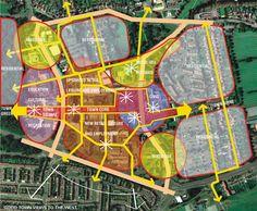 diagrama sobre imagem de satélite