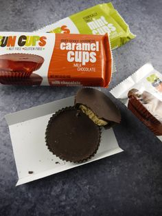 nut & gluten-free Sun Cups… healthy & delicious chocolate candies!