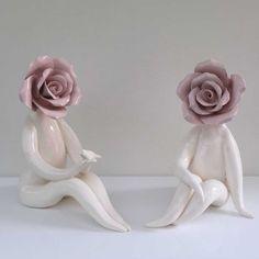 Handmade Gift Ideas from ceramic sculpture artist Carolyn Clayton #cazamic